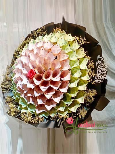 Bó hoa bằng tiền - Điều tuyệt vời nhất