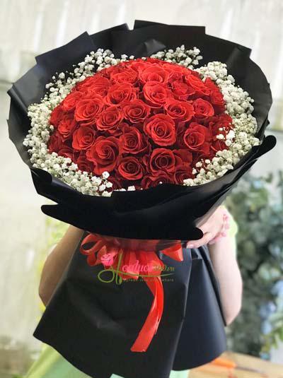 Bó hồng đỏ baby đẹp nhất
