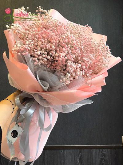 Bó hoa baby hồng - Chiều hồng