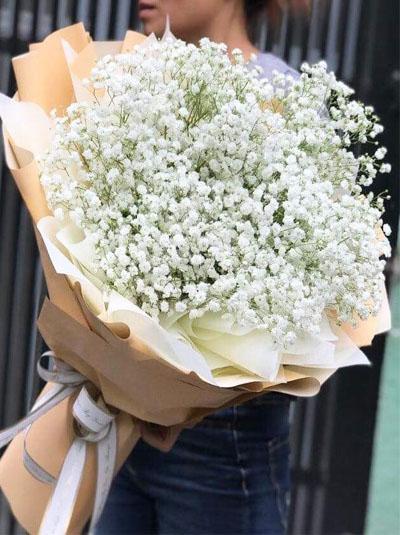 Bó hoa baby trắng - Thiên thần trắng