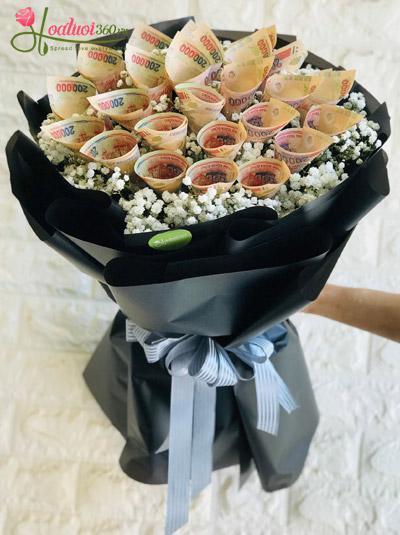 Bó hoa bằng tiền - Điều bất ngờ